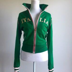 Self Esteem ITALIA logo sport jacket w long sleeve